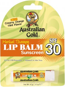 Australian Gold Herbal Therapy Lip Balm Sunscreen SPF 30