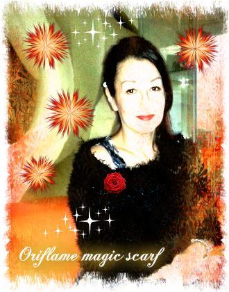 Oriflame magic scarf