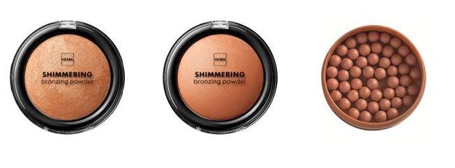 bronzingpowder Hema