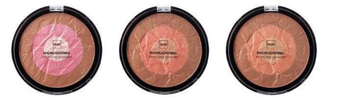 bronzing highlighter Hema