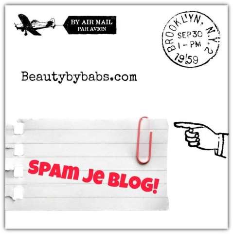 Spam je blog beautybybabs com