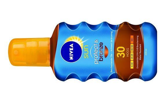 NIVEA UN Protect Bronze Olie Spray SPF30