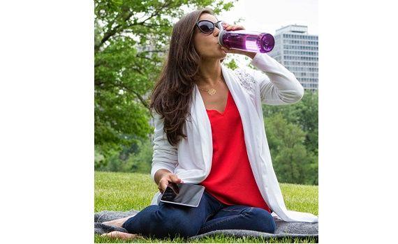 Drink jezelf mooi met slimme fles 23 drink Drink jezelf mooi met slimme fles water