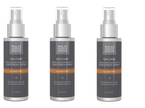 Paula's Choice Sunscreen Spray SFP43