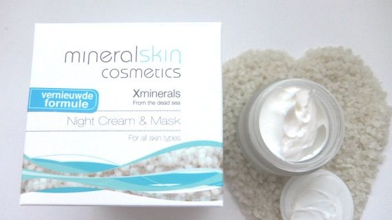 Review- XMinerals Night Cream & Mask 23 xminerals Review- XMinerals Night Cream & Mask nachtcrème
