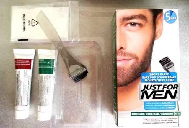 Just For Men verfsetje baard