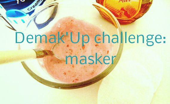 Masker tijd! Demak'Up detox water challenge 7 masker Masker tijd! Demak'Up detox water challenge vruchten