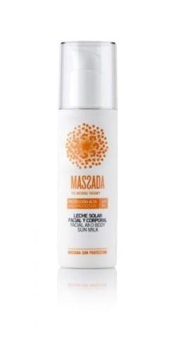 Massada Facial & Body Sun Milk SPF 30
