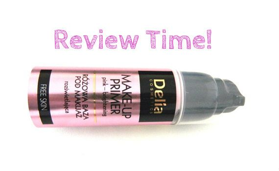 delia makeup primer pink 1