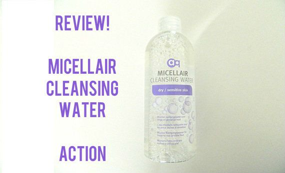 micellair water Action 1