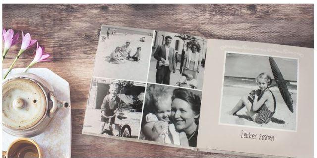 vintage fotoboek