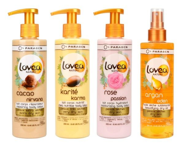 Lovea Nature Body Lotions & Dry Oil