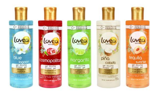Lovea Nature Shower Gels