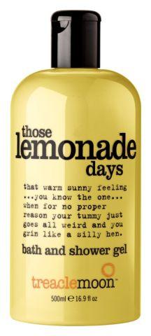 Treacle Moon Those Lemonade Days
