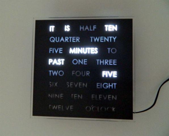 LED Word Clock