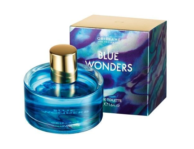 Oriflame Blue Wonders EDT with box