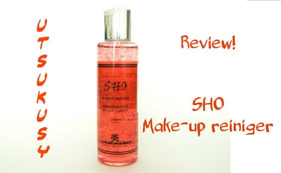 Review: Sho (oog) make-up remover 7 remover Review: Sho (oog) make-up remover oogmake-up