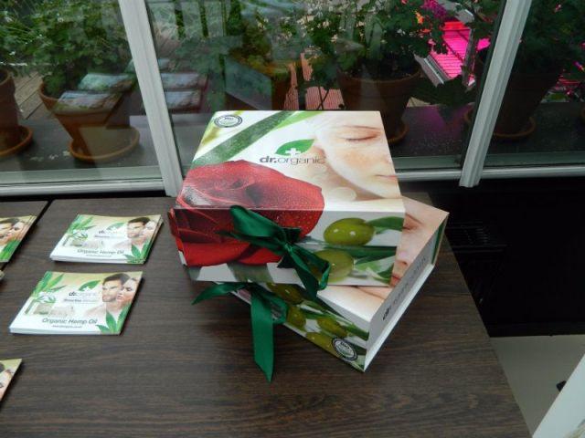dr organic cadeauverpakkingen
