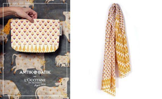 De collectie van Antik Batik voor L'OCCITANE 55 batik De collectie van Antik Batik voor L'OCCITANE Accessoires