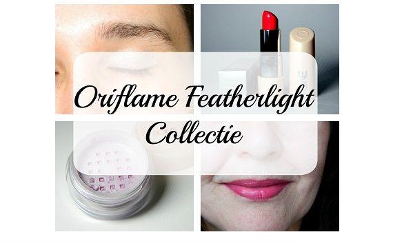 collage oriflame featherlight