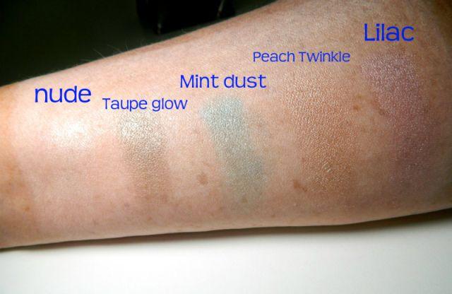 oriflame eyeshadows op arm