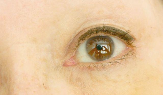 eyeliner oog
