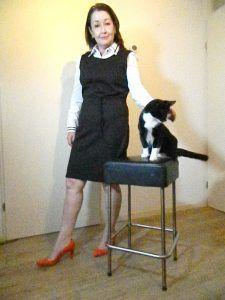 zwarte jurk en toulouse