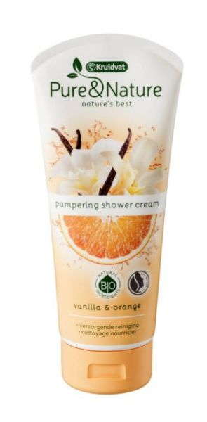Pure & Nature pampering shower cream