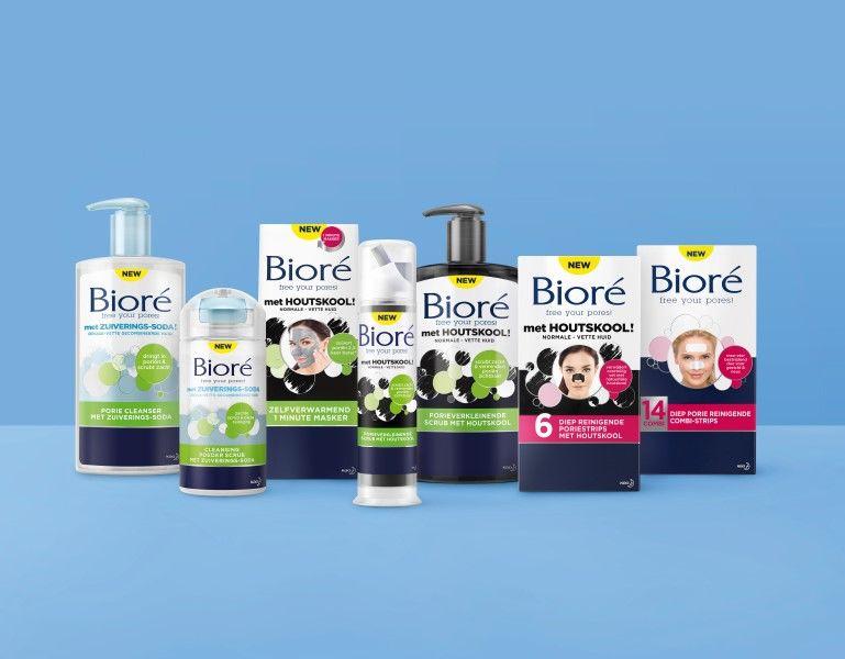 Say Hello to Bioré en Bye Bye to dirt! (schone poriën) 6 biore Say Hello to Bioré en Bye Bye to dirt! (schone poriën)