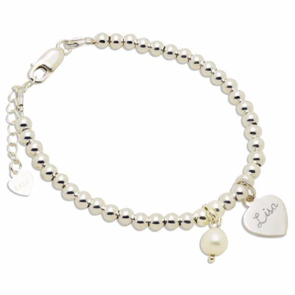 zilveren-armband-cute-balls-met-bedel-parel