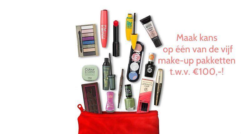 Kruidvat- Maak kans op één van de vijf make-up pakketten t.w.v. €100,-! 1 kruidvat Kruidvat- Maak kans op één van de vijf make-up pakketten t.w.v. €100,-!
