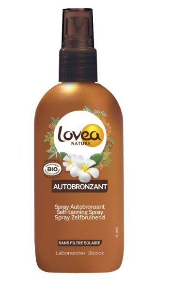 Lovea self tanning spray
