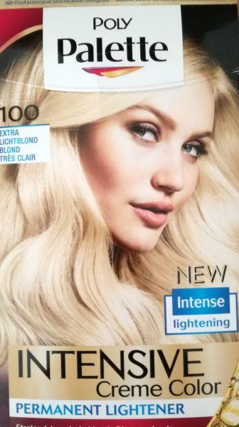 poly palette hair lightener