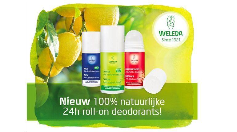 24 uur lang fris en fruitig met de 100% natuurlijke roll-on deodorants van Weleda 9 weleda 24 uur lang fris en fruitig met de 100% natuurlijke roll-on deodorants van Weleda