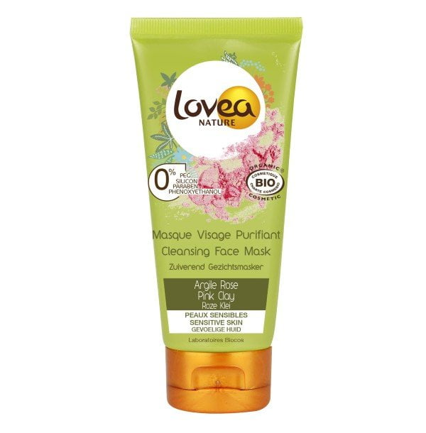 Lovea Nature - Pink clay cleansing face mask 75ml