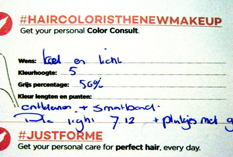advies hairstylist loreal
