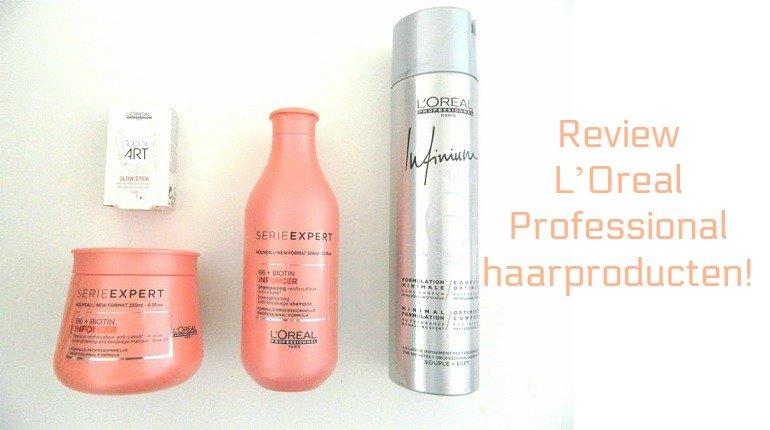 Review- L' Oreal Professional! Serie Expert shampoo en treatment, Infinium Pure haarlak en Tecni Art Glow Stick 11 l'oreal Review- L' Oreal Professional! Serie Expert shampoo en treatment, Infinium Pure haarlak en Tecni Art Glow Stick L'Oreal