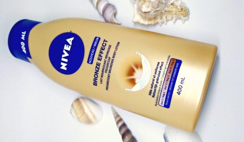 nivea bronze effect medium donkere huid