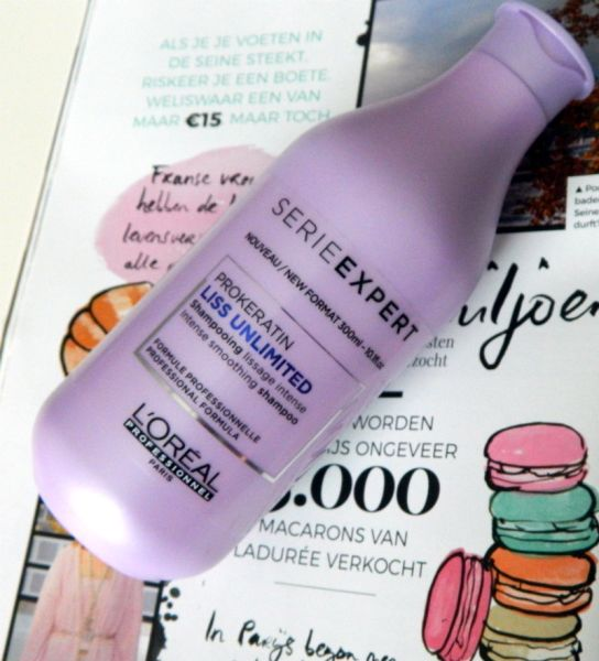 shampoo glad haar