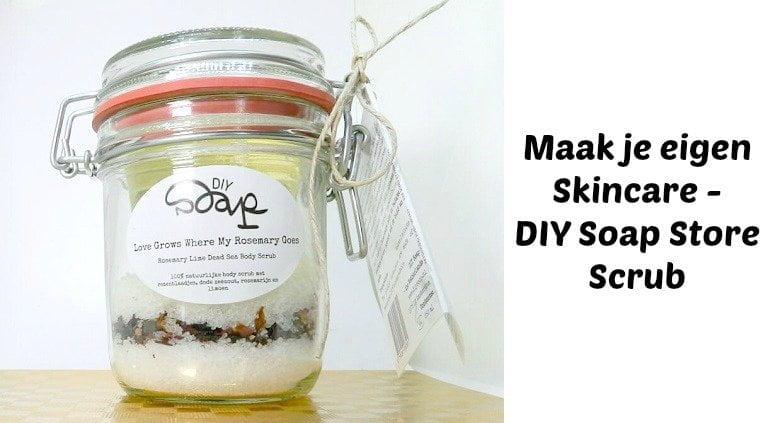 DIY soap scrub