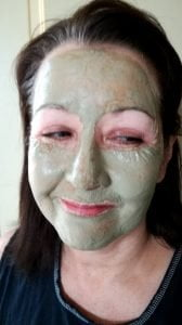 babs green clay mask
