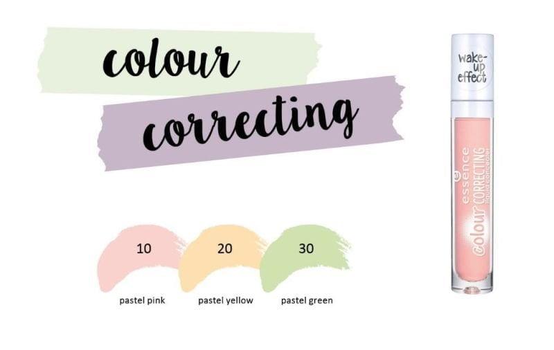 colour correcting liquid concealer