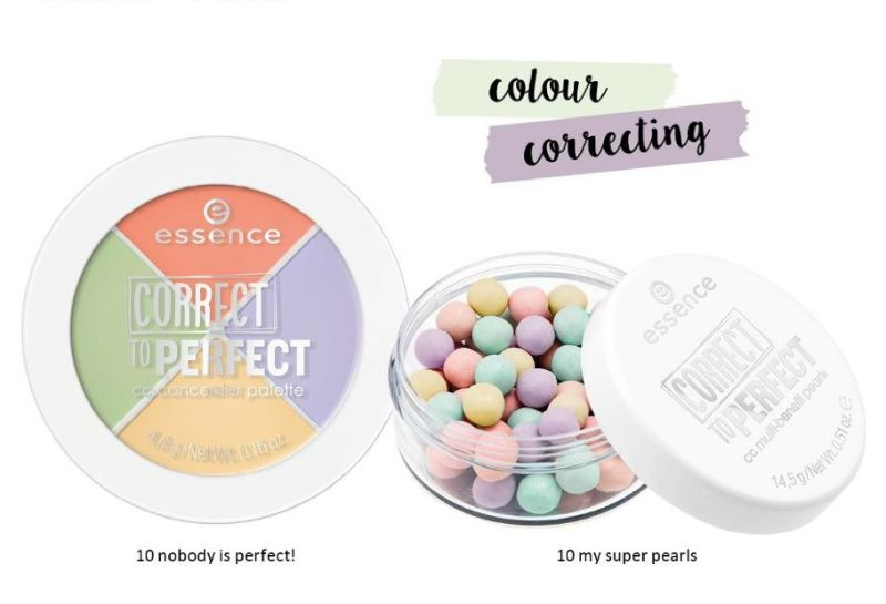 correct to perfect cc concealer palette and cc multi-benefit pearls