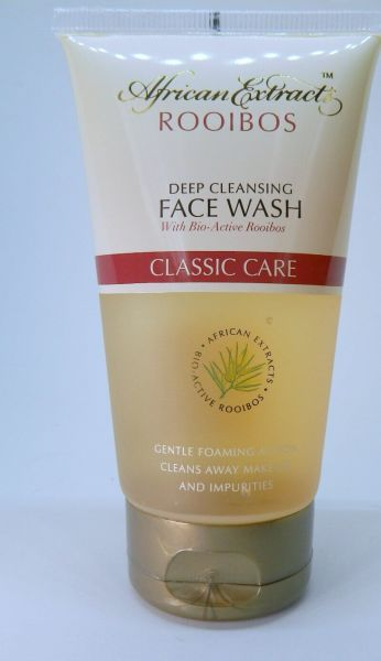 rooibos deep cleansing face wash
