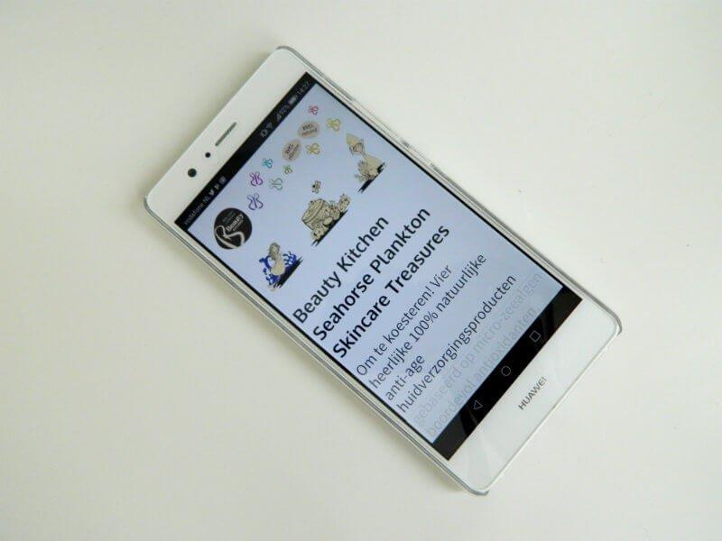 telefoonhoesje beautybybabs met smartphone