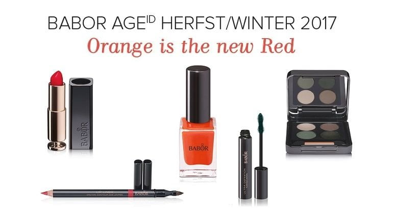 Babor Age - Herfst/Winter 2017- Orange is the new Red 9 babor Babor Age - Herfst/Winter 2017- Orange is the new Red