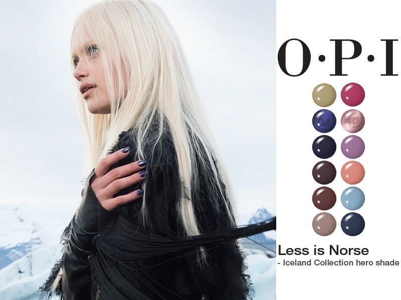 OPI Iceland collection main