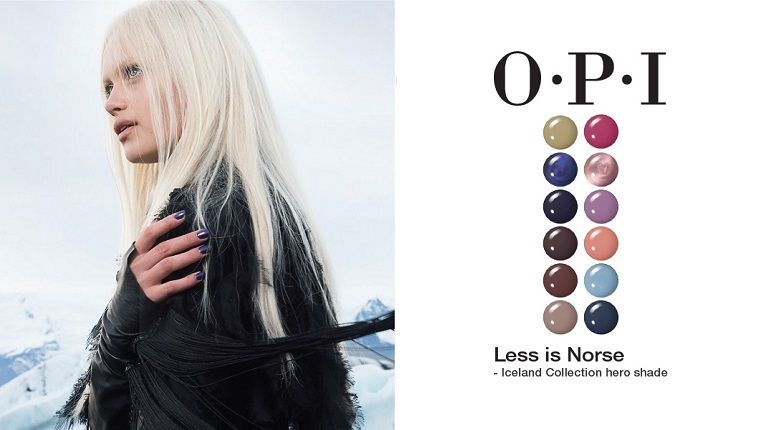 OPI Iceland collection u