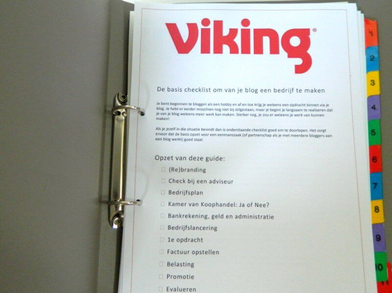 basis checklist viking