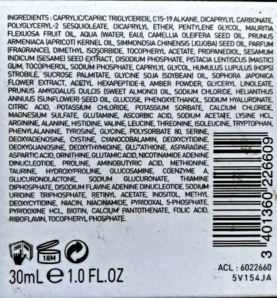 ingredients filorga oil absolute